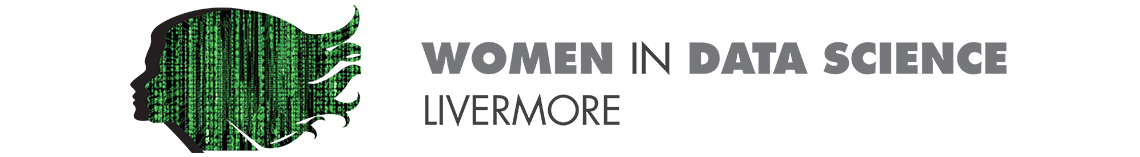 "Women in Data Science logo with the word ""Livermore"" underneath"