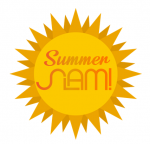 summer slam logo of a sun