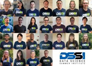 grid of 25 student portraits alongside the DSSI logo