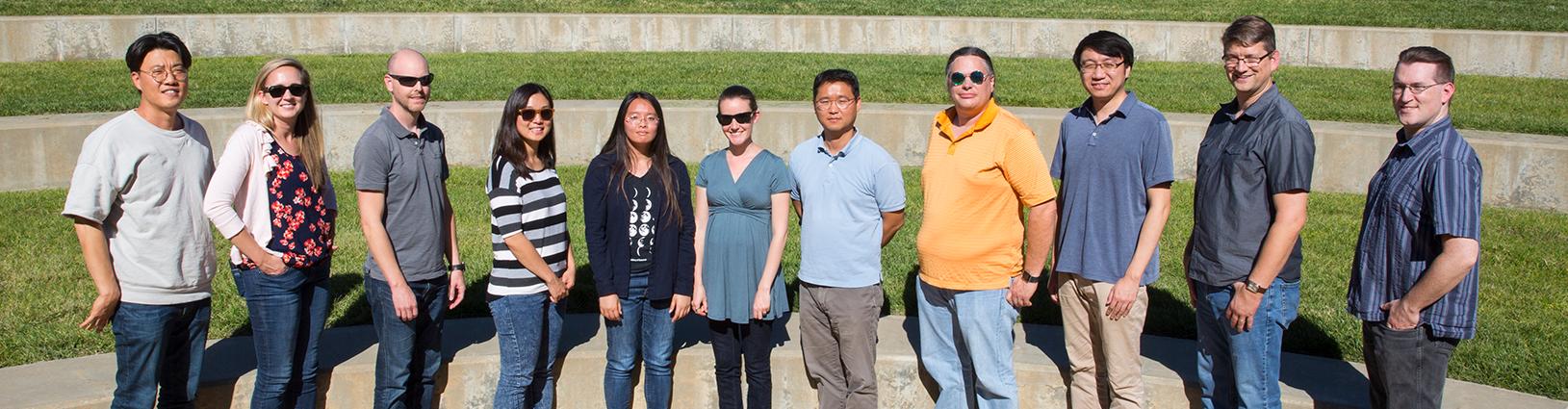materials science team photo